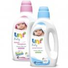 Uni Baby Çamaşır Deterjanı 1500 Ml +  Çamaşır Yumuşatıcısı 1500 Ml