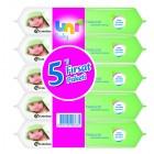 Uni Baby Natural Islak Havlu 5'li Fırsat Paketi