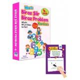 4. Sınıf Biraz Şiir Biraz Problem Kartları - Yaz Sil Kalemli - Mustafa Işık