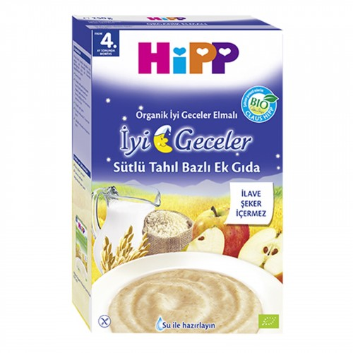 Hipp İyi Geceler Sütlü Elmalı 250 gr