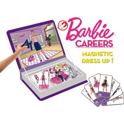 Diy-Toy Barbie Dress Up Career - Manyetik Kıyafet Giydirme Oyunu