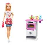 Barbie Mutfakta Oyun Seti FHP57