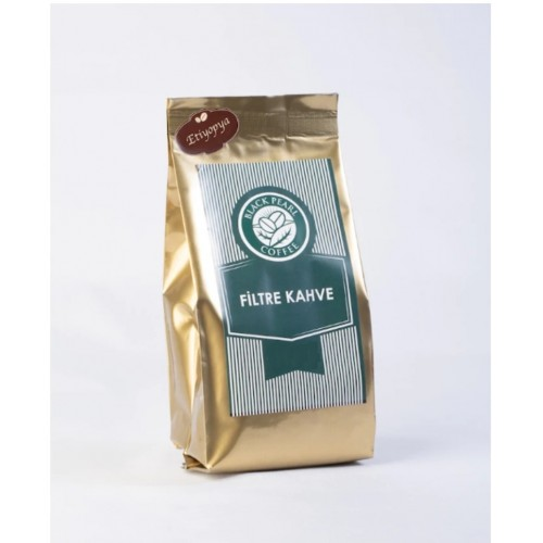Black Pearl Filtre Kahve Etiyopya Quadro Ambalaj 250 gr