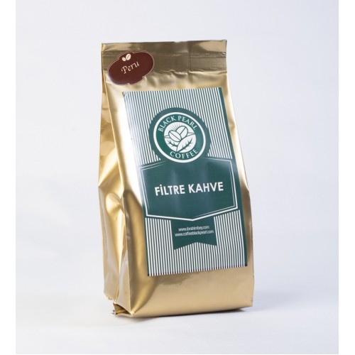 Black Pearl Filtre Kahve Peru Quadro Ambalaj 250 gr