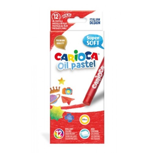 Carioca Yağlı Pastel Boya Kalemi 12'li 43277