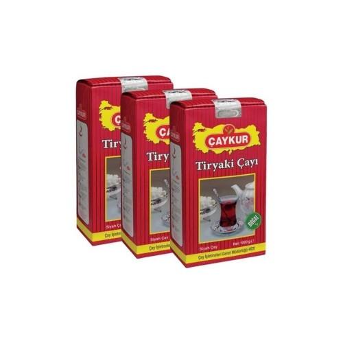 Çaykur Tiryaki Çay 1000 gr x 3 Adet
