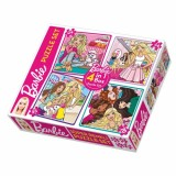 Diy-Toy Barbie 4 in 1 Puzzle