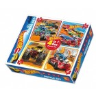 Diy-Toy Hot Wheels 4 in Puzzle
