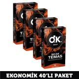Okey Prezervatif Sıcak Temas 10 lu x 4 Adet