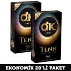 Okey Prezervatif Tenn Orijinal 10 lu x 2 Adet
