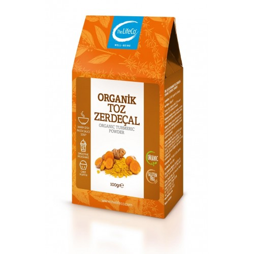 The LifeCo Organik Toz Zerdeçal 100 gr