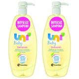 Uni Baby Boyasız Şampuan 750 ml x 2 Adet