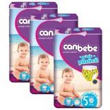 Canbebe Mayo Bebek Bezi Junior 5 Beden 11 Adet (12+ kg) x 3 Adet