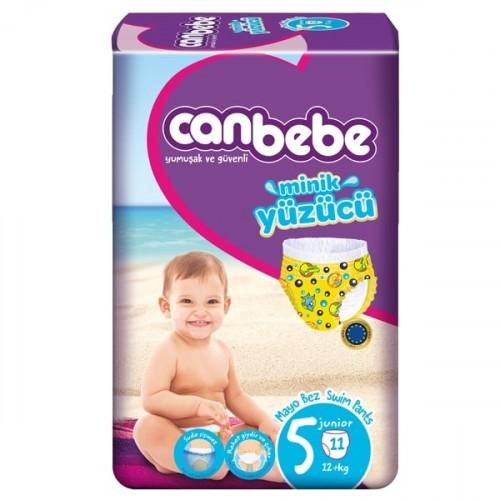 Canbebe Mayo Bebek Bezi Junior 5 Beden 11 Adet (12+ kg)