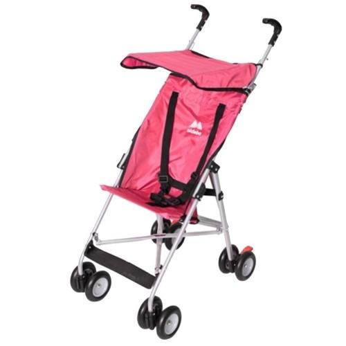Aldeba 3020 Pratik Baston Bebek Arabası (Fuşya)