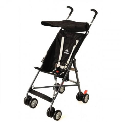 Aldeba 3020 Pratik Baston Bebek Arabası (Siyah)