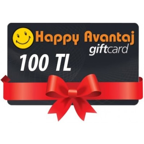 Happy Center Gift Card - 100 TL Bakiye