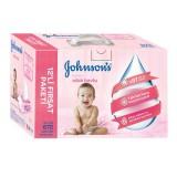 Johnsons Baby Islak Mendil Hassas 12 li Paket (672 Yaprak)