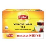 Lipton Yellow Label Demlik Poşet Çay 100 lü 320 gr (Şeker Hediye)