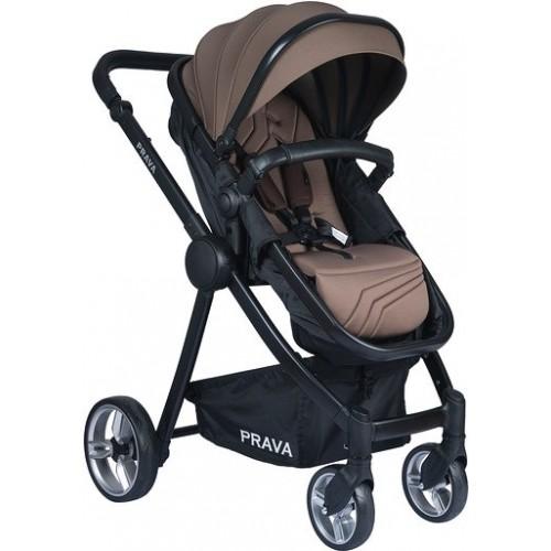 Prava P14 Travel Sistem Bebek Arabası (Kahve-Siyah)