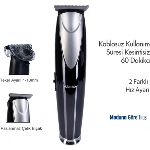 Goldmaster PH-3237 ProClipper Sakal ve Saç Kesme Makinesi