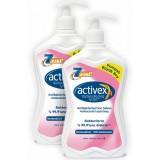 Activex Antibakteriyel Sıvı Sabun Nemlendirici 700 ml x 2 Adet