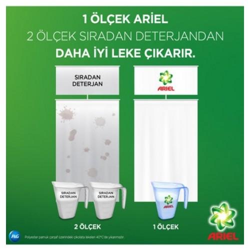 Ariel Plus Çamaşır Deterjanı Febreze Etkili Parlak Renkler 5 kg + 5 kg