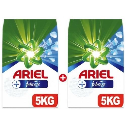 Ariel Plus Toz Çamaşır Deterjanı Febreze Etkili 5 kg x 2 Adet