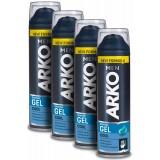 Arko Cool Tıraş Jeli 200 ml x 4 Adet