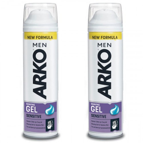 Arko Men Tıraş Jeli Sensitive 200 ml x 2 Adet