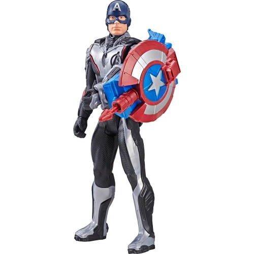 Avengers: Endgame Titan Hero Power FX Captain America Figür E3301