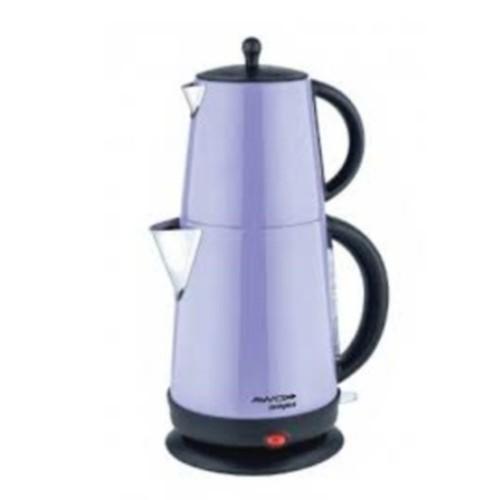 Awox Demplus Lila 2200 W Çelik Çay Makinesi