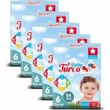 Baby Turco Bebek Bezi 6 Beden XL 24 lü x 5 Adet