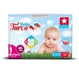 Baby Turco Bebek Bezi Yenidoğan 1 No 60 lı
