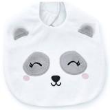 Babyjem Panda Mama Önlüğü Beyaz