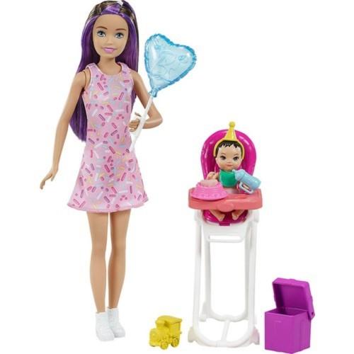 Barbie Bebek Bakıcısı Bebeği ve Aksesuarları FHY97-GRP40
