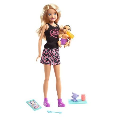 Barbie Bebek Bakıcısı Skipper Bebek Serisi GRP10-GRP13