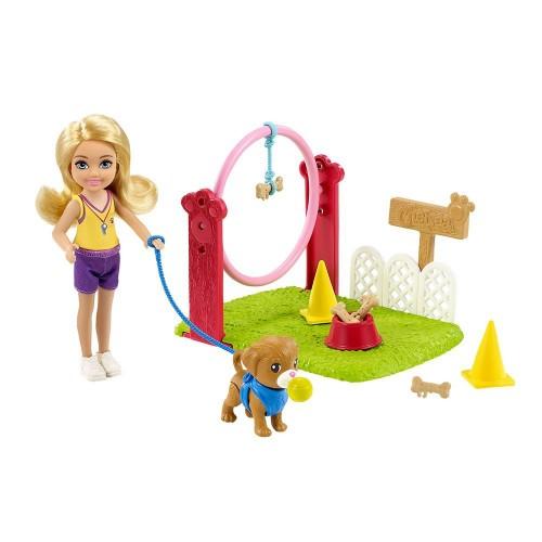 Barbie Chelsea Meslekleri Öğreniyor Bebek ve Oyun Setleri GTR88-GTN62