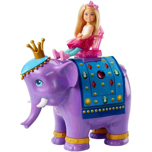 Barbie Dreamtopia Chelsea ve Fil Kral FPL83