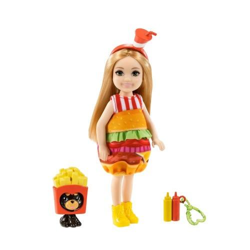 Barbie Kostümlü Chelsea Ve Hayvancığı Oyun Setleri Ghv69-grp69