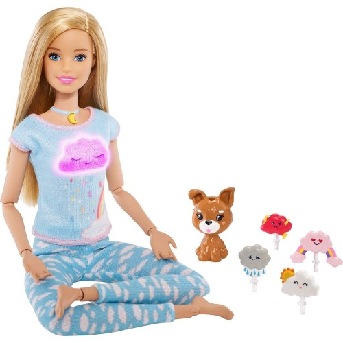 Barbie Wellness - Barbie Nefes Egzersizi Bebeği GNK01