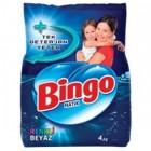 Bingo Matik Toz Çamaşır Deterjanı Renkli - Beyaz 4 kg
