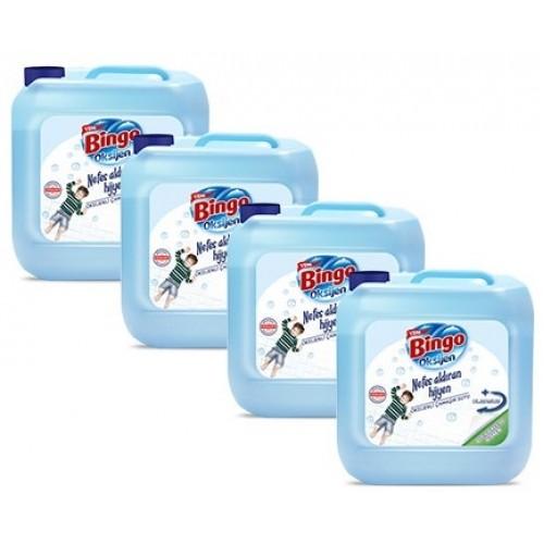 Bingo Oksijen Çamaşır Suyu Derinlemesine Hijyen 3,5 lt x 4 Adet