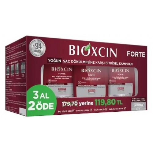 Bioxcin Forte Tüm Saç Tipleri İçin Şampuan 300 Ml (3 Al 2 Öde )