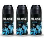 Blade Cooler Erkek Deodorant 150 ml x 3 Adet