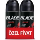 Blade Faster Erkek Deodorant 150 ml 2 li Paket
