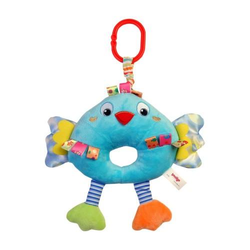 Bondigo Müzisyen Arkadaşım Sevimli Kuş Mavi BP3082