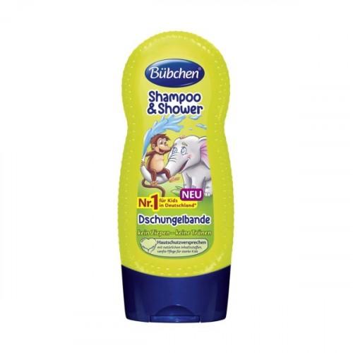 Bübchen Tropik Orman Çocuk Şampuanı ve Duş Jeli 230 ml