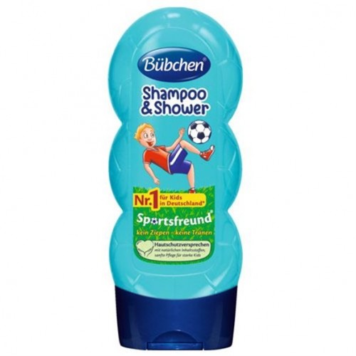 Bübchen Sport Çocuk Şampuanı ve Duş Jeli 230 ml