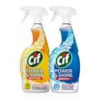 Cif Power & Shine Mutfak 750 ml + Banyo 750 ml